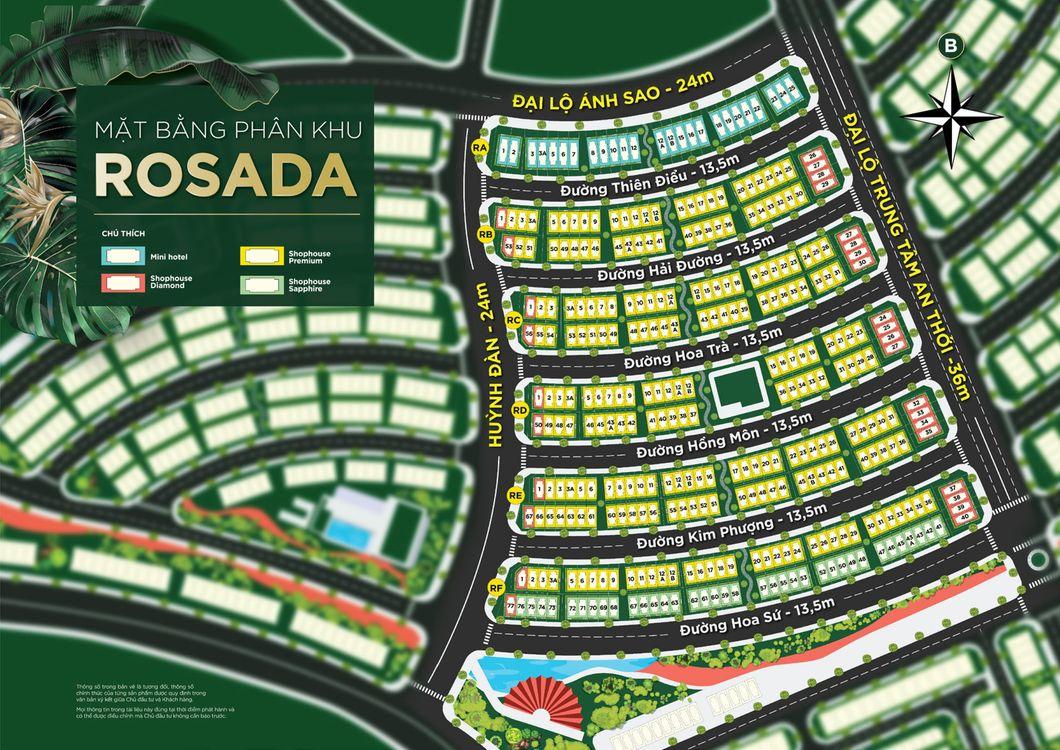 Phân khu ROSADA